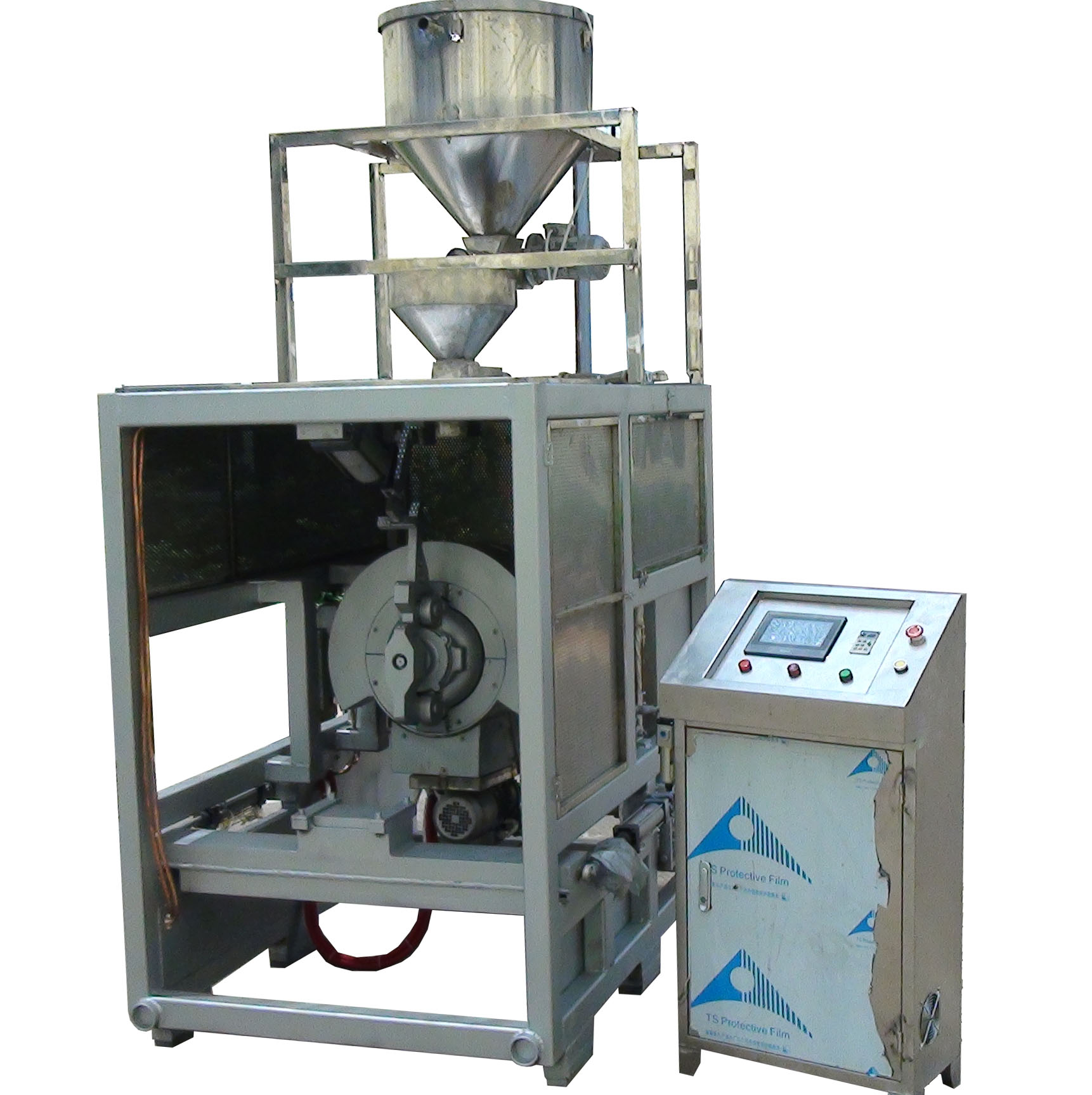 steam puff wheat making machine