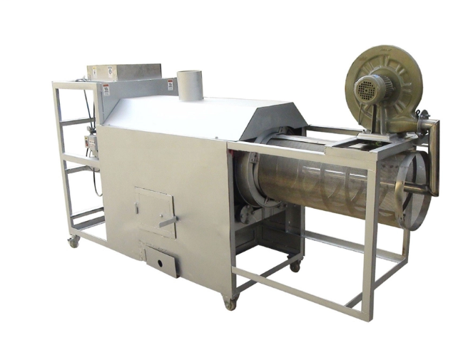 Puffed Rice Roaster/Automatic rice sand separator puffing machine